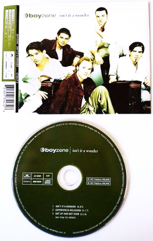 Boyzone - Isn't It A Wonder (CD Single Pt 1) (G+/EX)